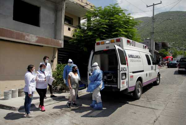 Mexico reports 5,558 new coronavirus cases, 705 more deaths