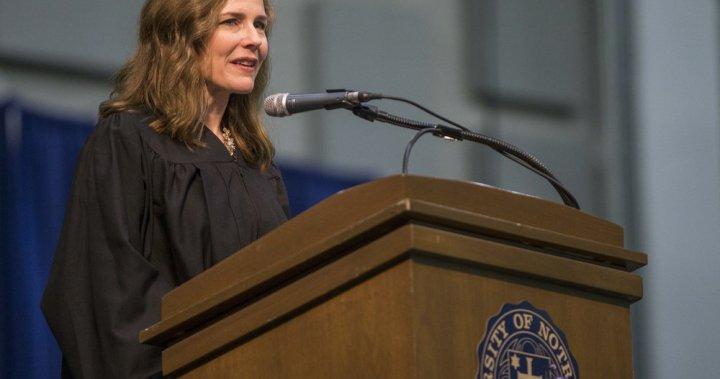 Trump expected to nominate Judge Amy Coney Barrett to U.S. Supreme Court Saturday