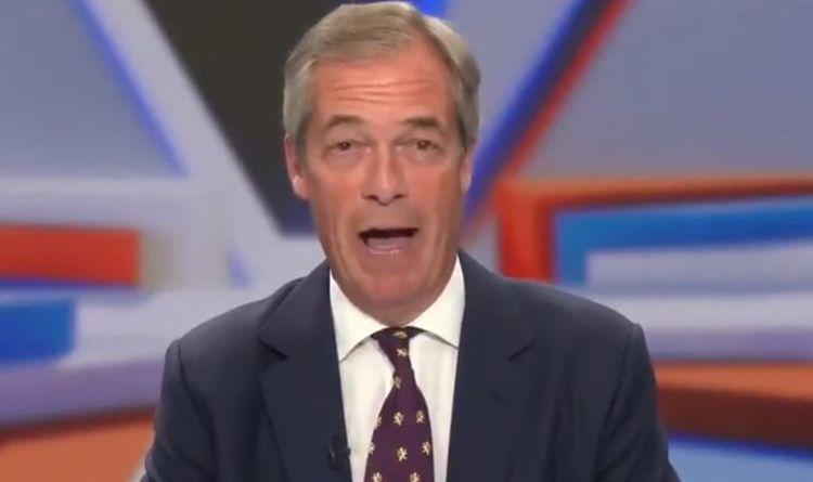 'Emmanuel Macron looks ridiculous' Nigel Farage mocks France 'throwing toys out of pram'