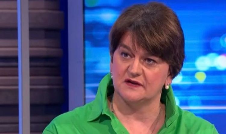'Respect and allow us to move forward!' Arlene Foster fires warning shot to EU over NI
